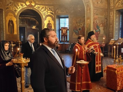 2020-05-23 Memorial Services held for Grand Duchess Leonida Georgievna of Russia