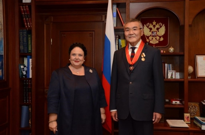 The Head of the House of Romanoff visits Kalmykia and Moscow, September 19-29, 2016
